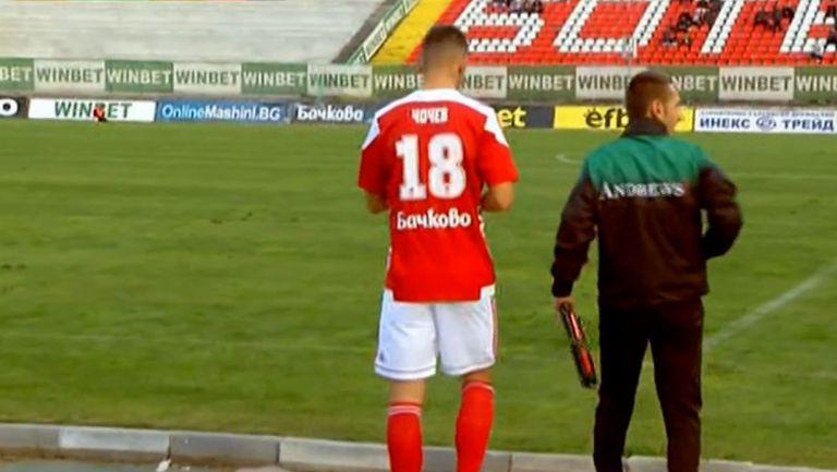 Чочев се завърна след тежката контузия и дебютира за ЦСКА 1948