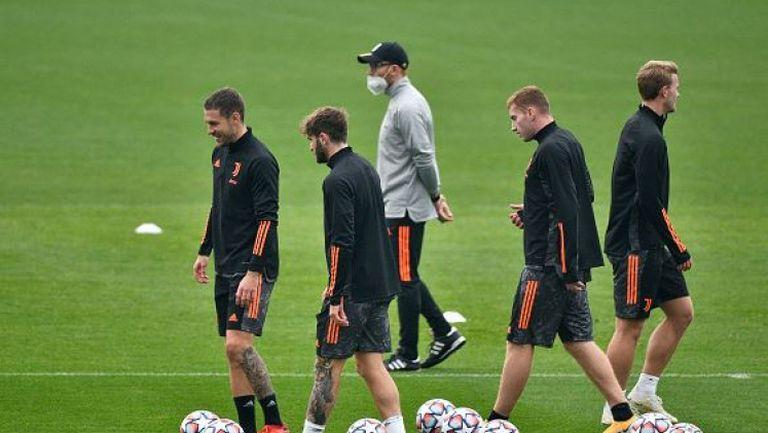 Юве се подготвя за Динамо Киев без Роналдо