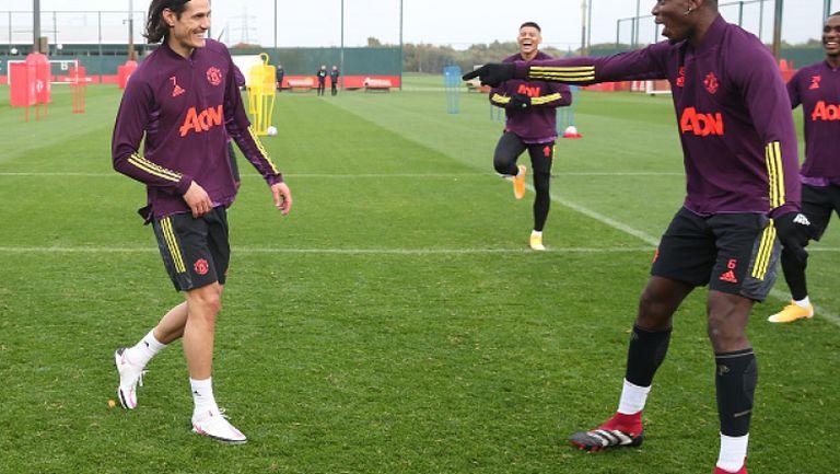 Кавани може да дебютира за Юнайтед срещу ПСЖ