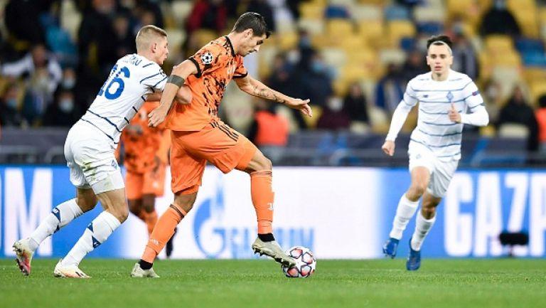 Два гола на Мората донесоха на Ювентус успех срещу Динамо (Киев)