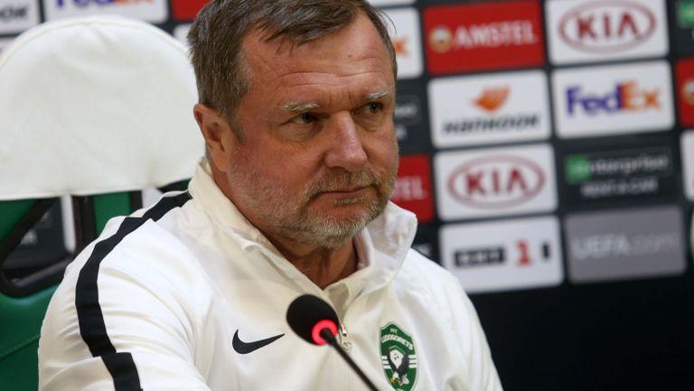 Павел Върба: Първият мач в групите е най-важен, ще покажем друго лице
