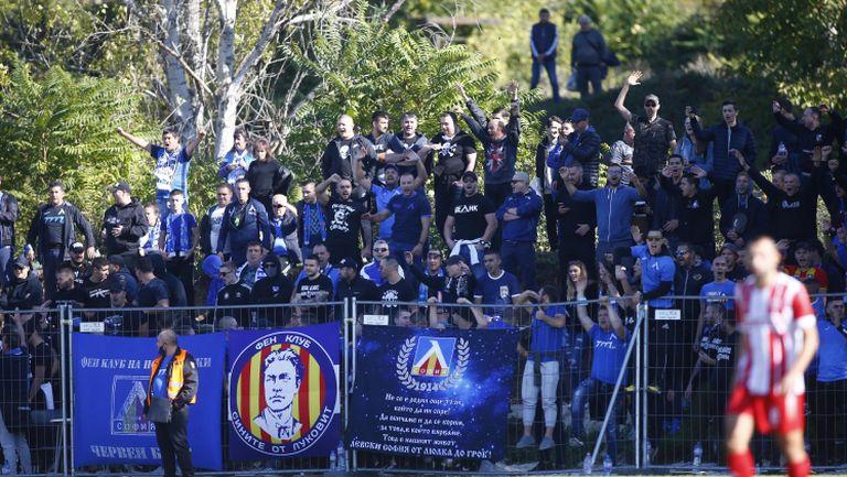 Еуфория след головете на Партизан - Левски