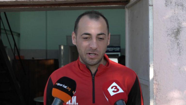 Играещият треньор Любомир Иванов: Ако бяхме удържали преднината до почивката, второто полувреме щеше да е трудно за Левски