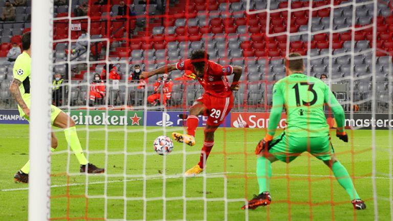 Байерн (Мюнхен) - Атлетико Мадрид 4:0