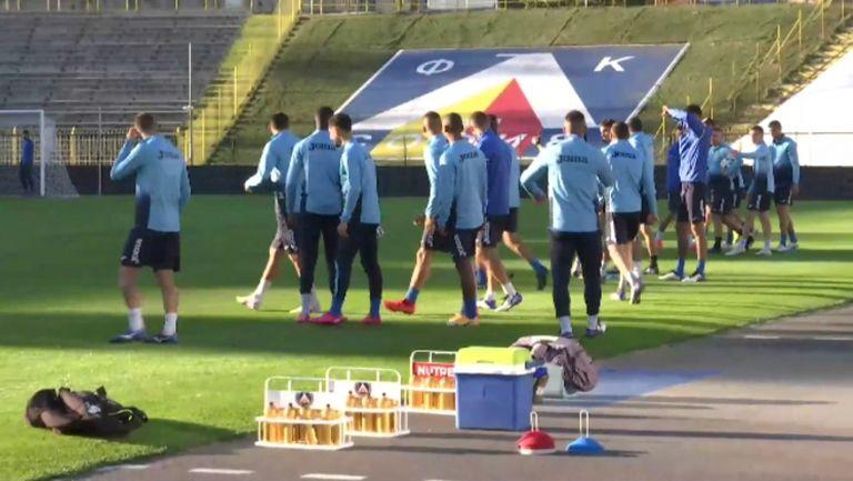 Славчев отново тренира с Левски