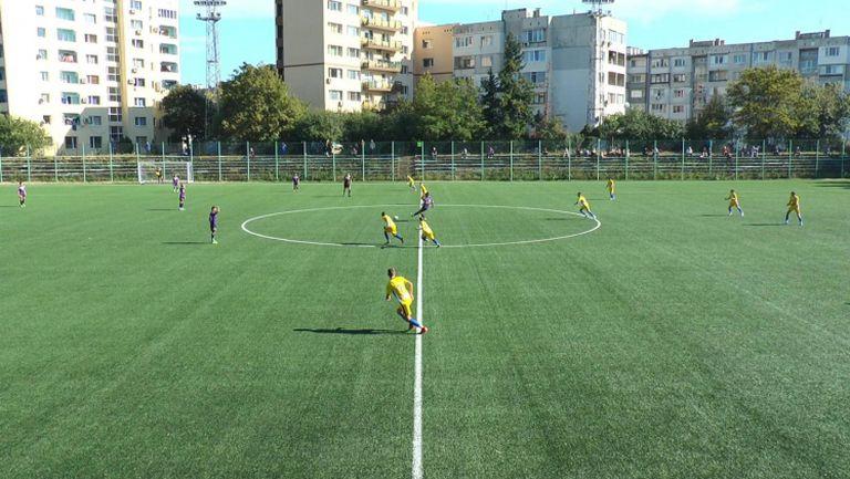 Левски - Етър 2:0 (първи 1/8-финал, Купа БФС U14)