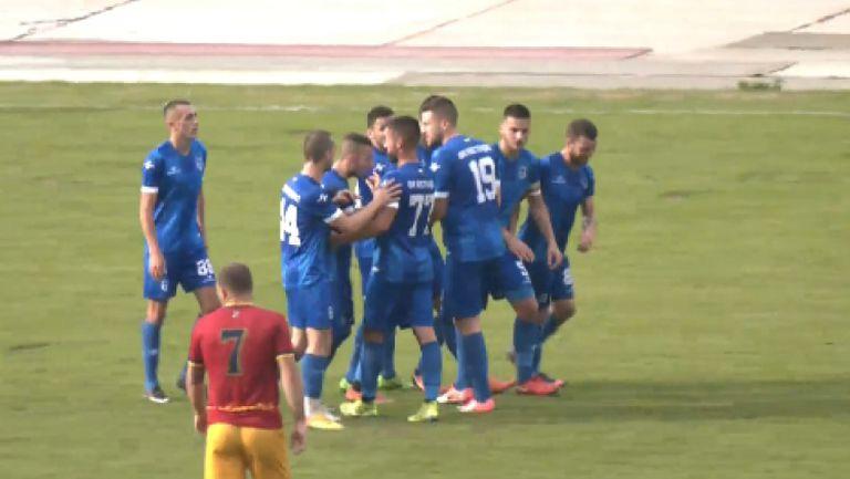 Кюстендил - Велбъжд 3:0, 3 червени картона и куриозен гол в местното дерби