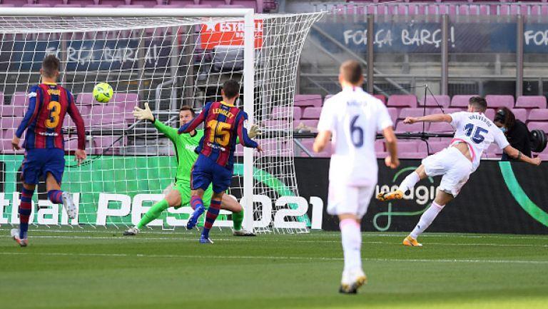 """Реал Мадрид удари Барса на """"Камп Ноу"""" с 3:1"""