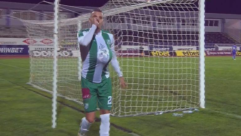 Октавио Мантега с уникална парабола изведе Берое напред в резултата срещу Етър
