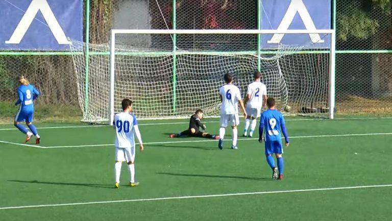 Левски - Спартак (Варна) 4:0 (Купа на БФС, 1/8-финал, реванш, U18)