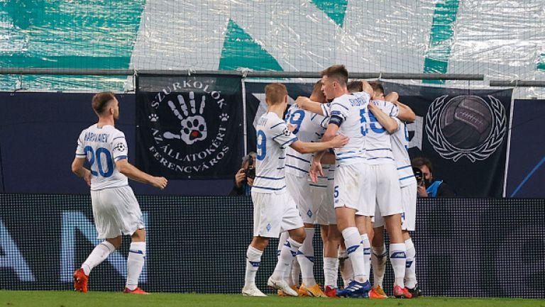Ференцварош - Динамо Киев 2:2