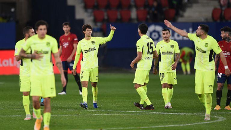 Осасуна - Атлетико Мадрид 1:3