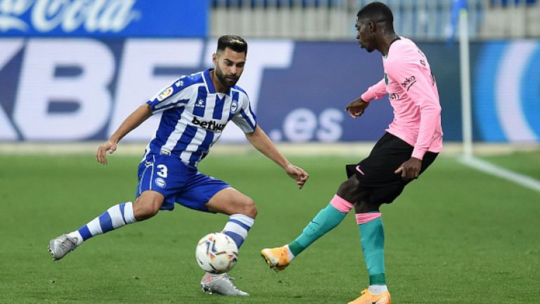 Барса продължи да страда в Ла Лига, Алавес - Барселона 1:1