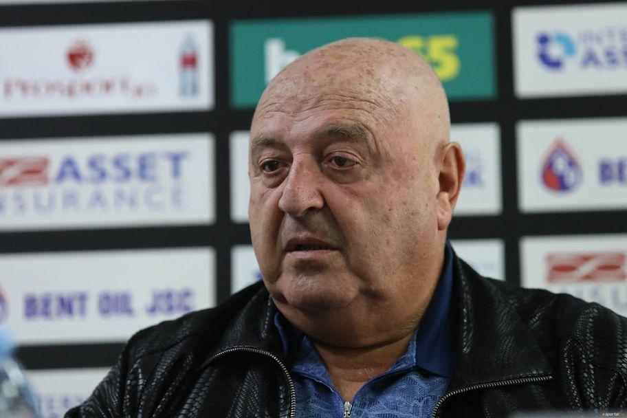 Представяне на Александър Тарханов като треньор на Славия