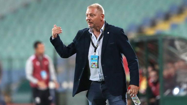 Петко Петков: Поздравявам ЦСКА, чака ни тежък мач, но ще гоним точки