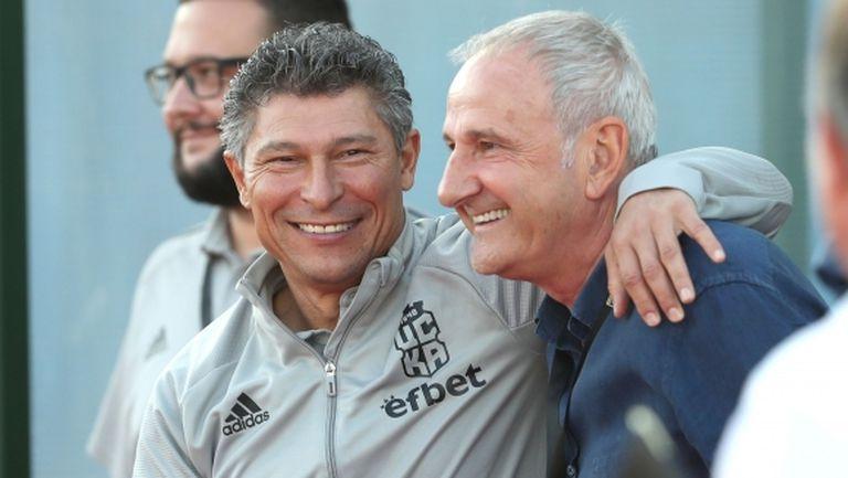 Спасов: Съжалявам, че не вкарахме трети и четвърти гол на Славия, чакам чужденец