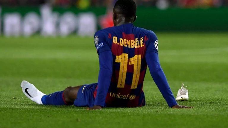 Барса сваля цената на Дембеле, преговорите с Ман Юнайтед продължават