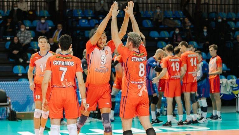 Тодор Скримов и Енисей с първа победа в Суперлигата на Русия (снимки)