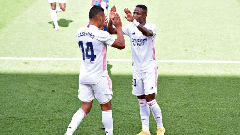 Винисиус и Куртоа пак зарадваха Реал Мадрид (видео + галерия)