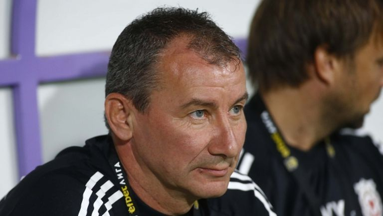 Стамен Белчев: През второто полувреме противникът лежеше и бавеше играта