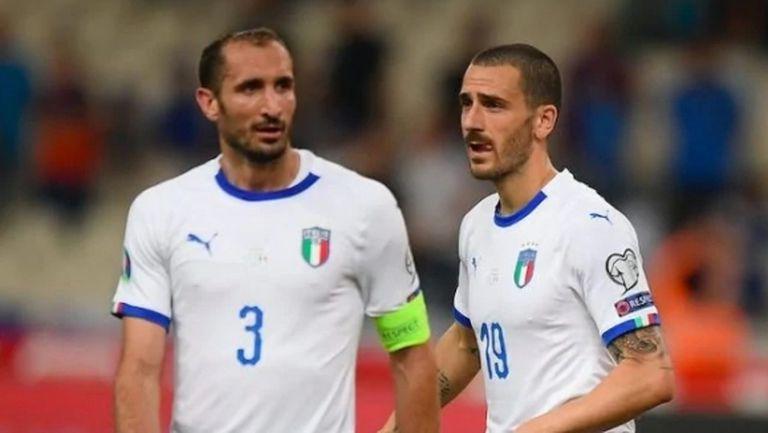 Бонучи и Киелини чакат резултати от тестове, за да се присъединят към националите на Италия