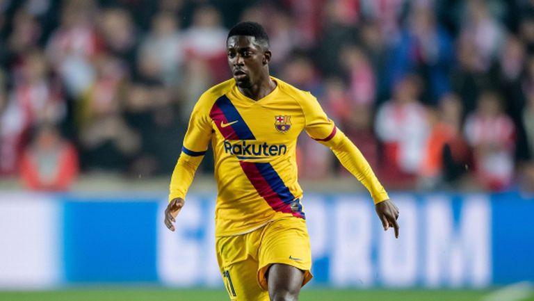 Дори налудничаво предложение от Юнайтед не помогна за трансфер на Дембеле