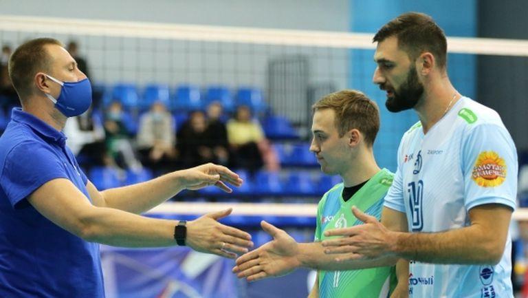 Цветан Соколов попадна в Идеалния отбор на 2-ия кръг в Суперлигата на Русия