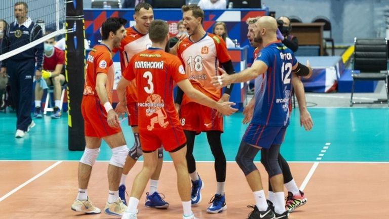 Супер Тодор Скримов с 16 точки, Енисей с първа домакинска победа в Русия