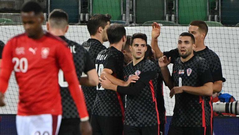 Хърватия обърна Швейцария в контрола (видео)