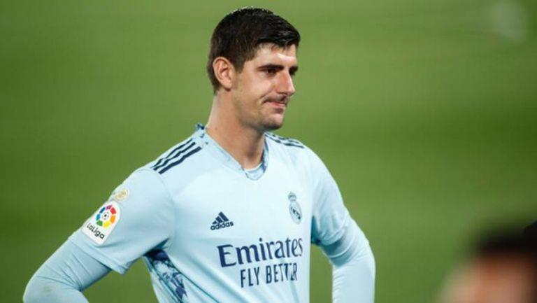Куртоа се контузи, Реал Мадрид остана без вратари