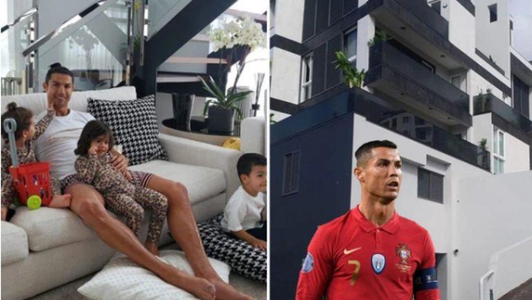 Крадец обра дома на Роналдо в Португалия