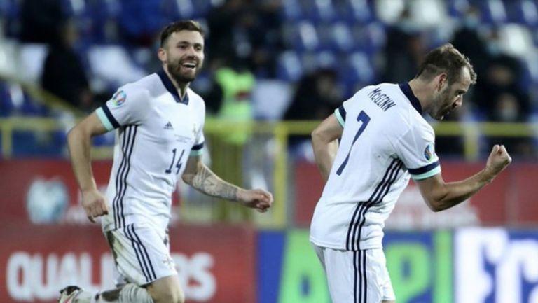 Северна Ирландия и Словакия са на финал, след като преминаха през ситото на дузпите (видео)