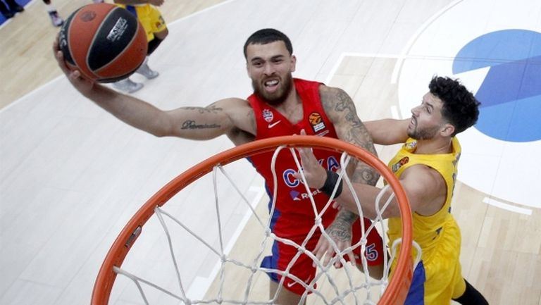 Първата победа на ЦСКА в Евролигата дойде след обрат
