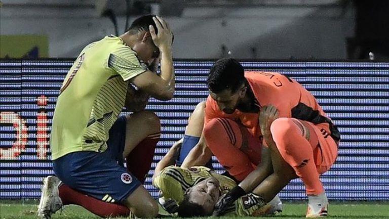 Сантяго Ариас с жестока контузия