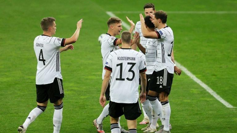 Германия с първа победа в Лигата на нациите (видео)