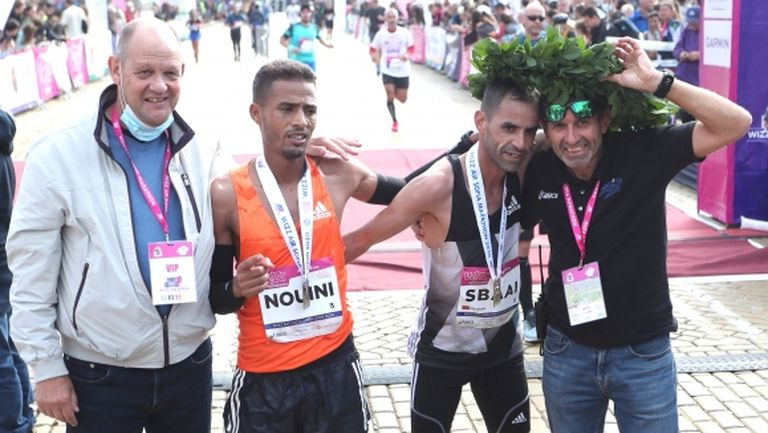 Мароканци и украинка поставиха рекорди на трасето на Софийския маратон (видео+галерия)