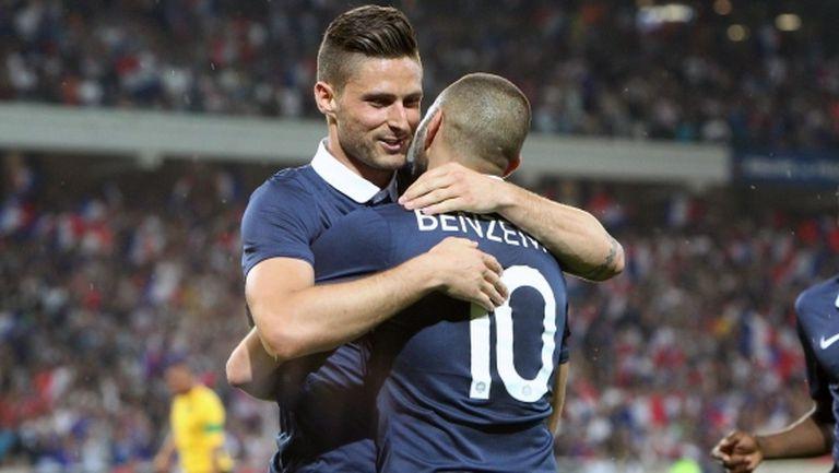Жиру: Кариерата ми с Франция щеше да е по-добра, ако играех заедно с Бензема