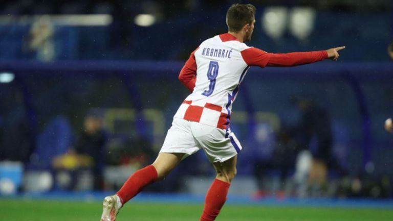 Първи точки за Хърватия в Лигата на нациите (видео)