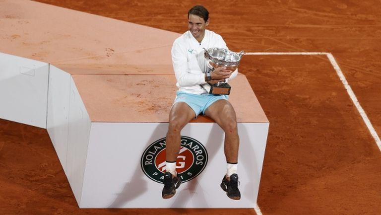 Федерер за титлата на Надал: Едно от най-великите постижения в спорта