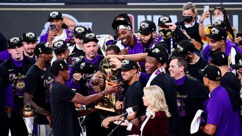 17-ата е за Коби: ЛА Лейкърс отново седна на трона на величието в НБА