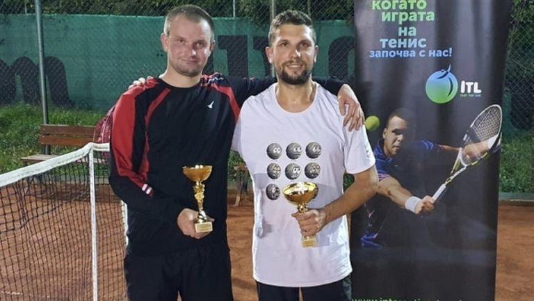 Валентин Бонев триумфира в седмия чалънджър на Интерактив тенис