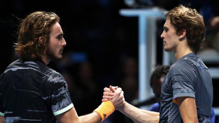 Циципас и Зверев се класираха за Финалния турнир на ATP