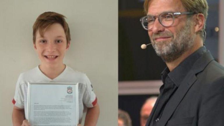 Клоп успокои 11-годишен фен с трогателно писмо