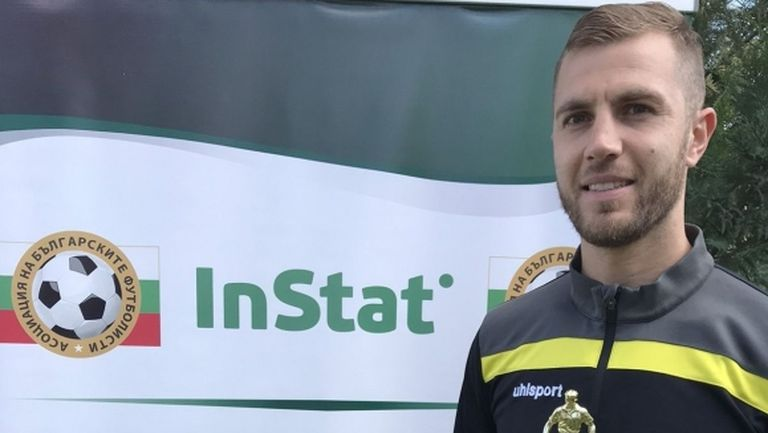 Атанас Илиев стана Футболист №1 за септември