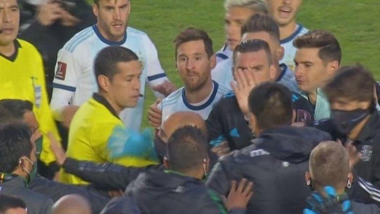 Меси се разлюти след мача срещу Боливия