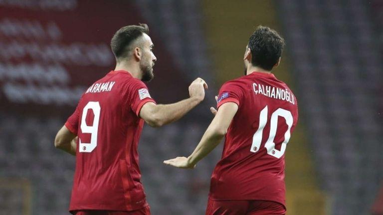 Турция показа характер срещу Сърбия (видео)