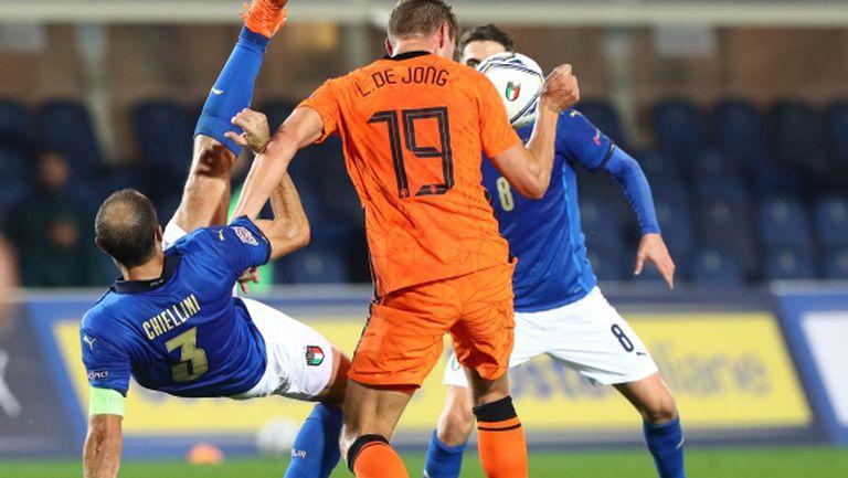 Италия и Нидерландия отстъпиха с по една позиция след редица пропуски (видео)
