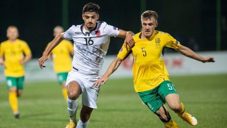 Литва остана на върха в групата си с отрицателна голова разлика (видео)