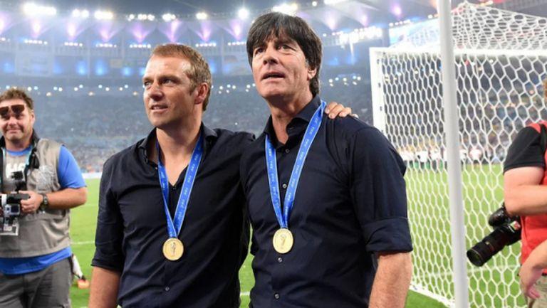 Ханзи Флик защити Йоахим Льов на фона на нарастващите критики в Германия