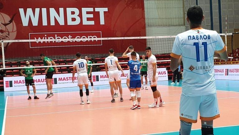 Дунав (Русе) срази Тетевен Волей на турнира в Бургас (снимки)